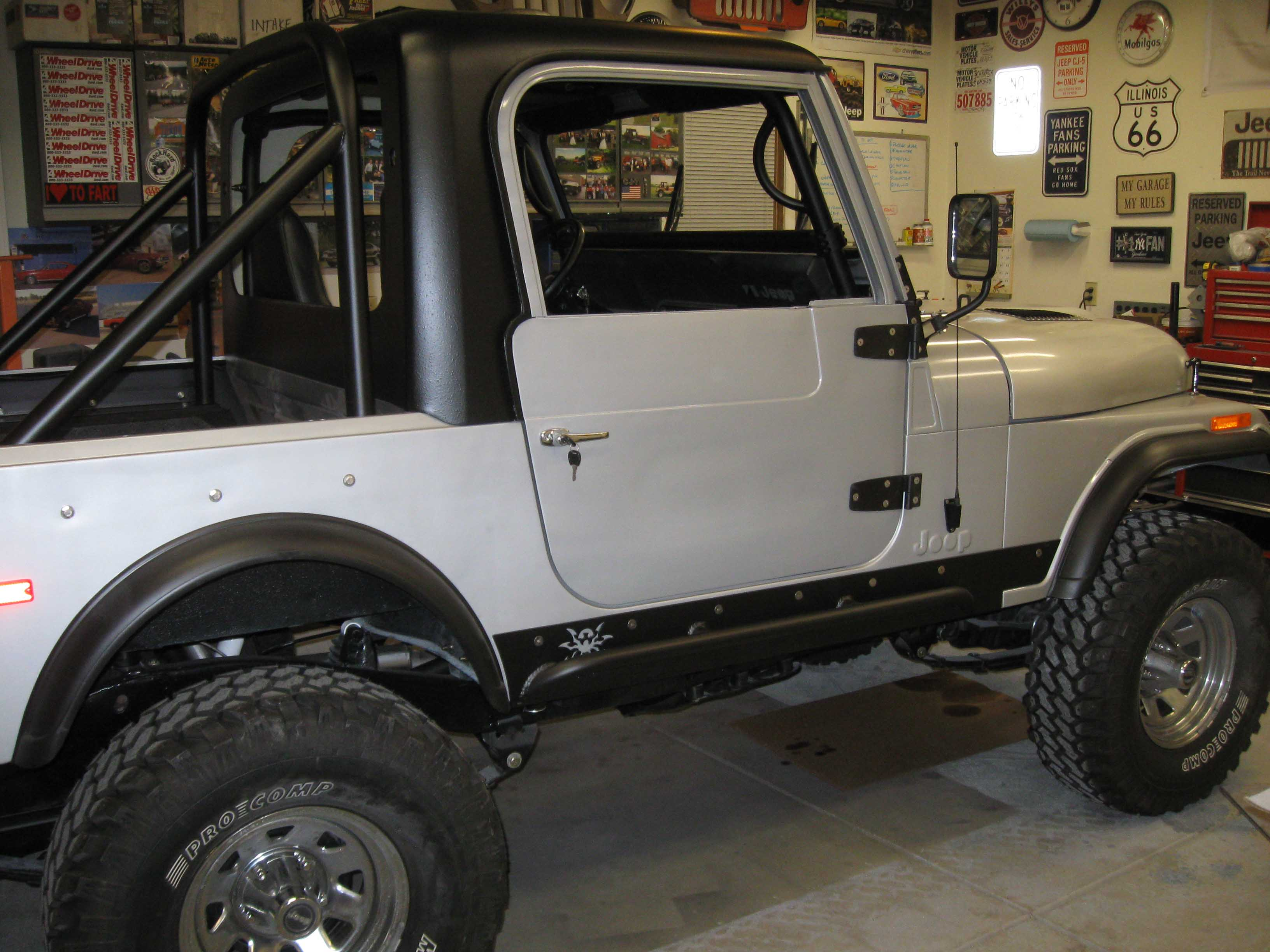 Truth Be Told I Have Never Used Hard Doors On Any Jeep That I Had... Minus The 76 CJ7 But I Never Took Them Apart . & Cj7 Hard Doors \u0026 81-95 Jeep CJ7 YJ Passenger Side Full Hard Door ... Pezcame.Com